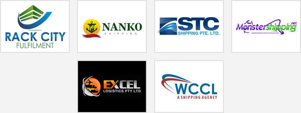 shipping and fulfillment logo designs for inspiration