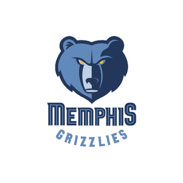 Memphis Grizzlies logo design PNG